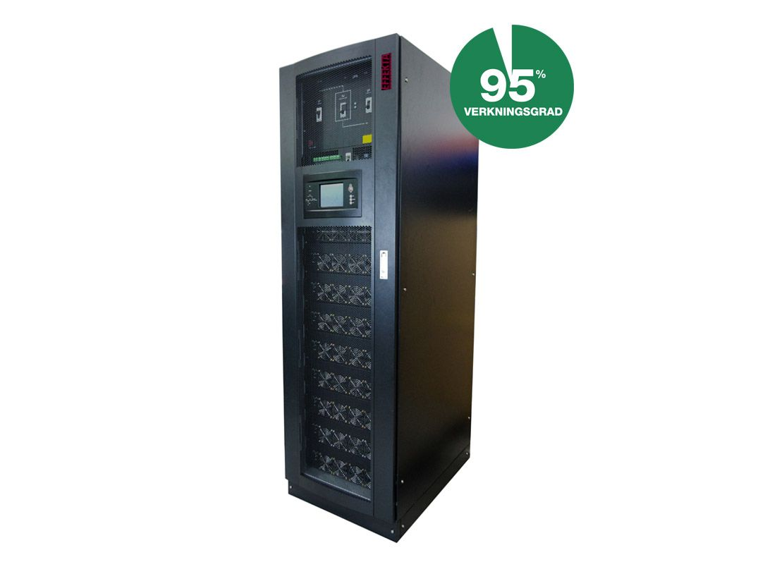UPS Green Efficiency Modulär 10-900kVA 1-3fas/3-fas
