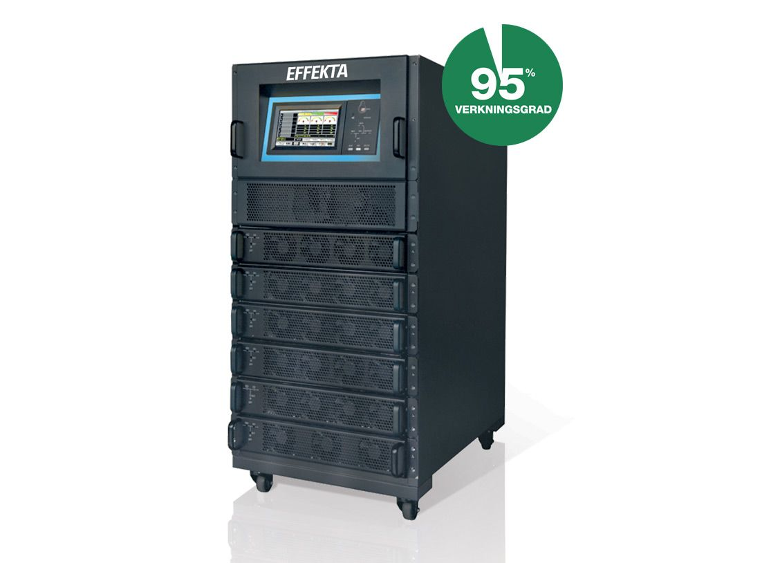 UPS Green Efficiency Modulär mini 10-90kVA 1/1, 3/1, 3/3-fas