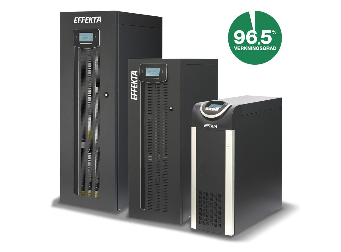 UPS Green Efficiency 10-200kVA 3-fas/3-fas